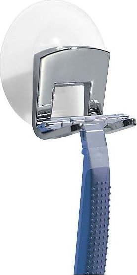 Nástěnný držák na žiletku s přísavkou iDesign Gia