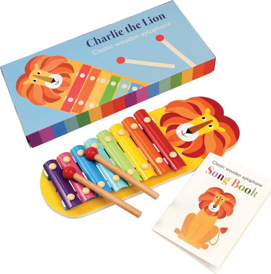 Dětský xylofon Rex London Charlie the Lion