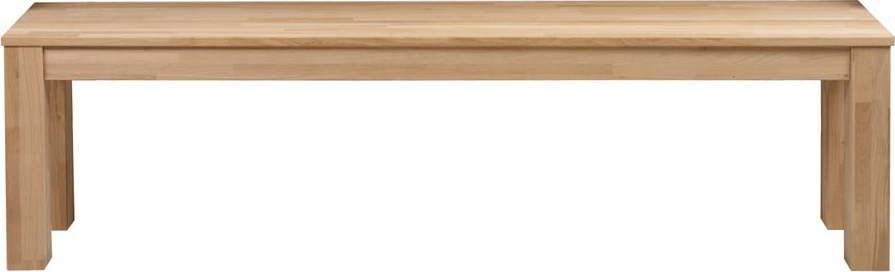 Dřevěná lavice WOOOD