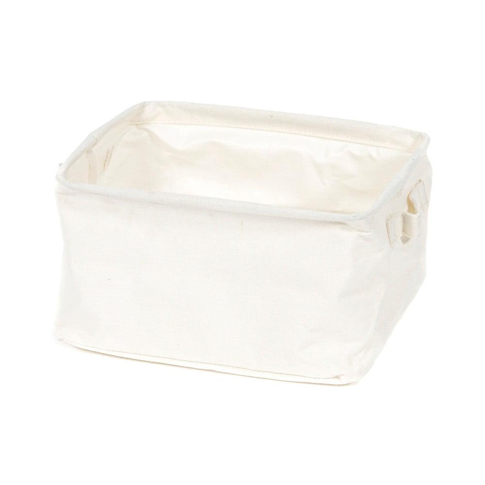 Úložní košík Compactor Cream, 25 x 15 x 20 cm