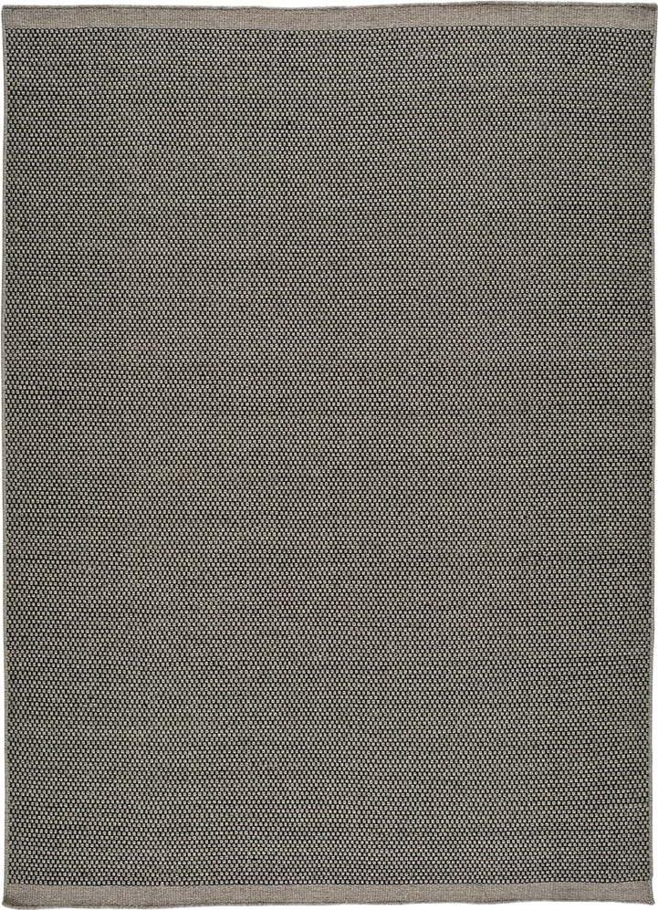 E-shop Šedý vlněný koberec Universal Kiran Liso, 60 x 110 cm