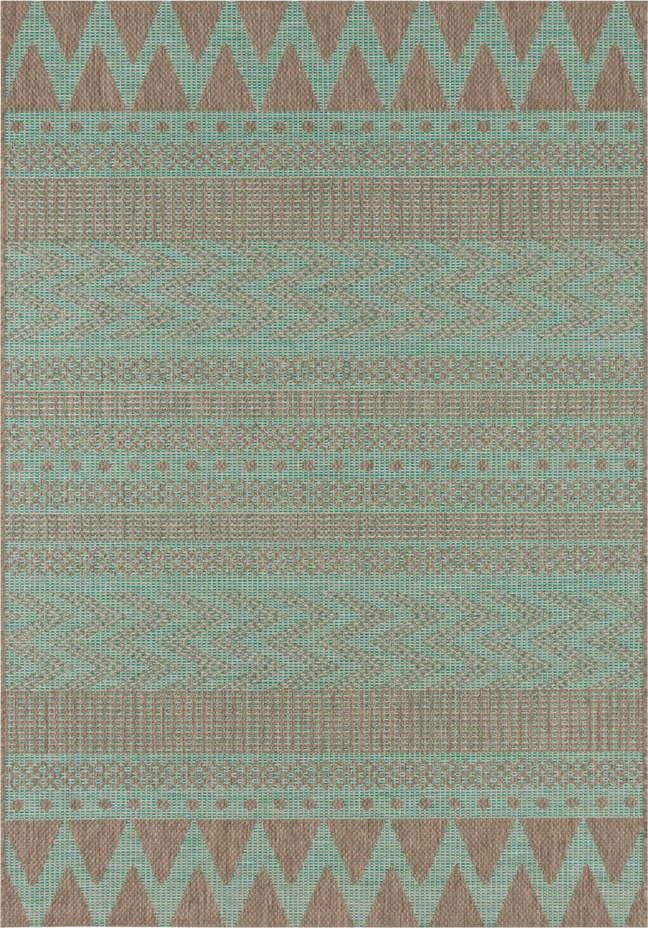 Zeleno-béžový venkovní koberec Bougari Sidon, 160 x 230 cm