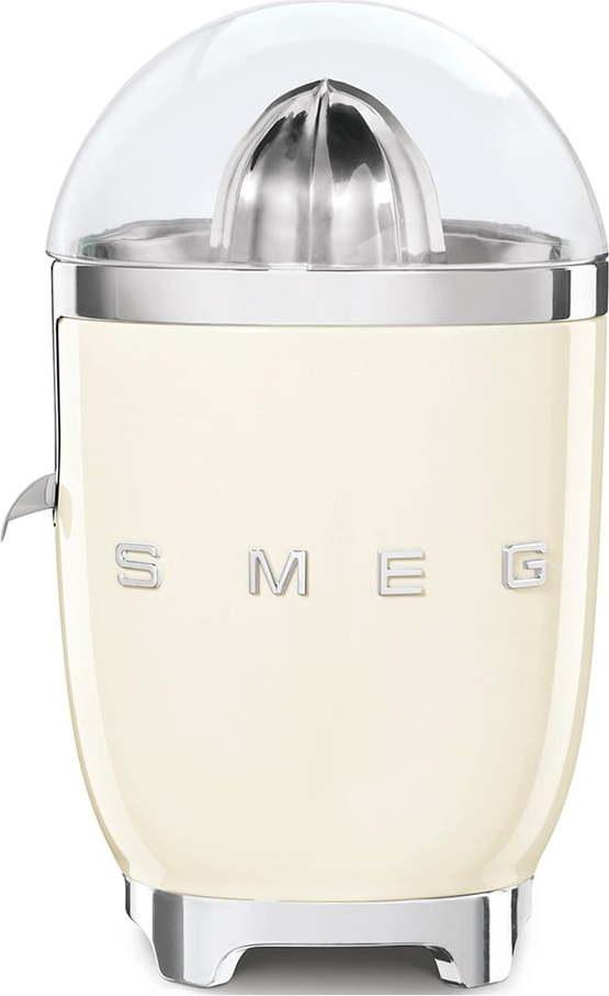 Krémově bílý odšťavňovač SMEG