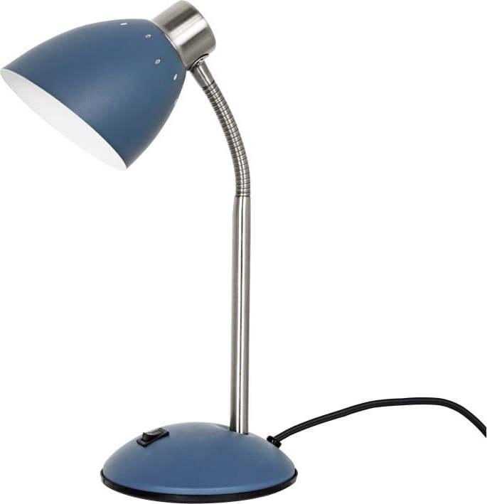 Modrá stolní lampa Leitmotiv Dorm Miss Sixty