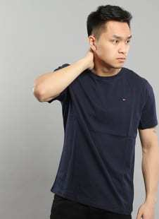 Tommy Hilfiger Cotton Tee Icon C/O navy