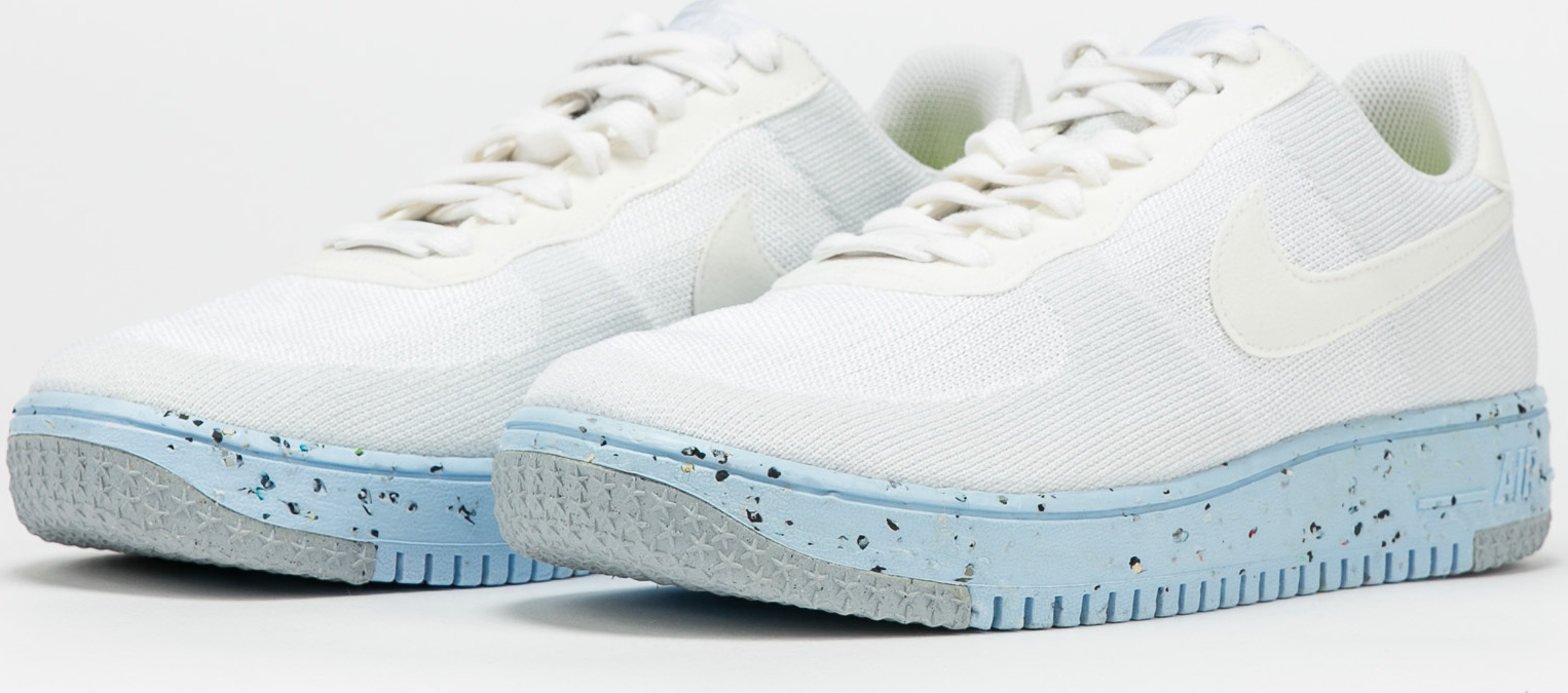 Nike W Air Force 1 Crater Flyknit white / white - pure platinum