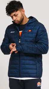 ellesse Lombardy Padded Jacket navy M