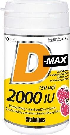 D-Max 2000 IU tbl.90