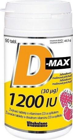 Levně D-Max 1200 IU tbl.90