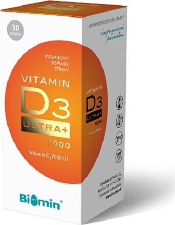 Biomin VITAMIN D3 ULTRA+ 7000 I.U.tob.30