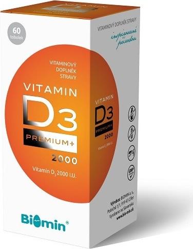 Biomin VITAMIN D3 PREMIUM+ 2000 I.U.tob.60